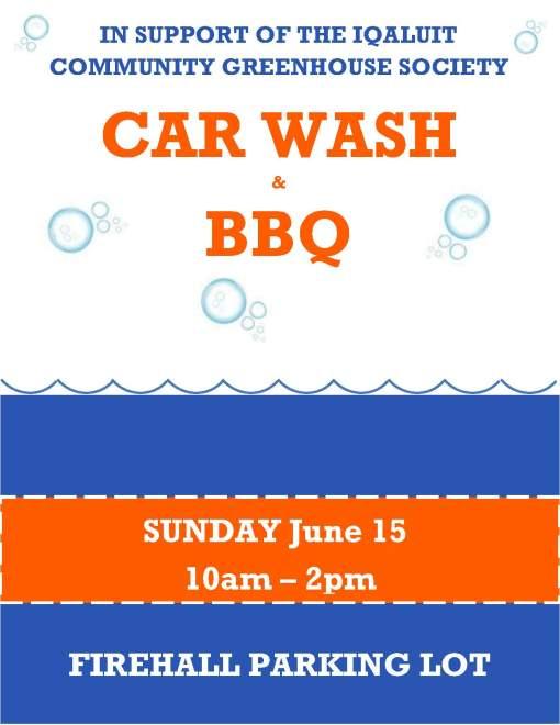 carwash poster