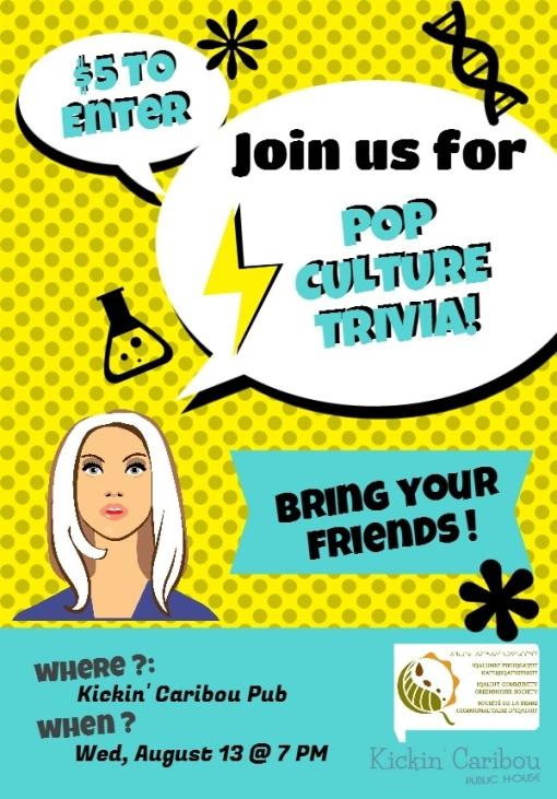 August 13 Trivia Night
